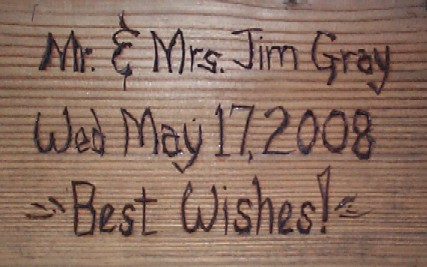 wedding gift engraving