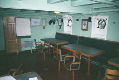 Galley Mess Deck Aboard the SS Jeremiah Obrien WWII