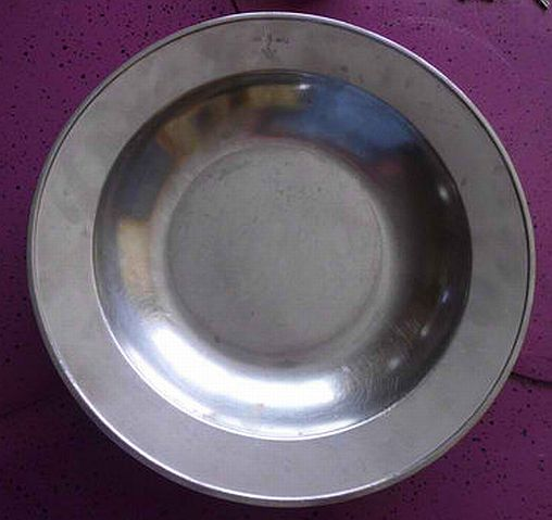 polish navy aluminum mess bowl