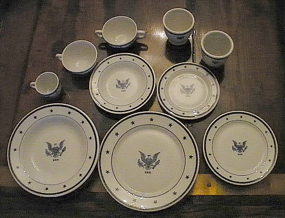 us navy admirals mess grouping, eagle with usn