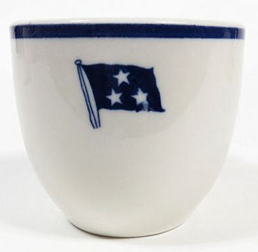 vice admiral, 3 stars, demitasse cup