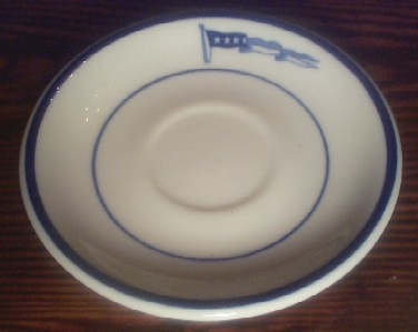 captain demitasse saucer