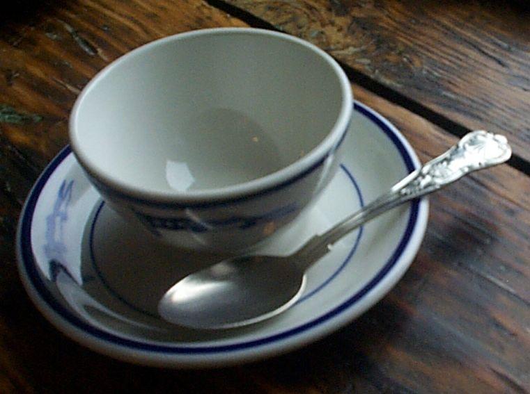 captain coffee cup set