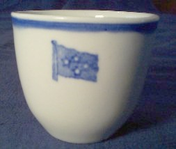 fleet admiral or full admiral, 4 stars demitasse cup