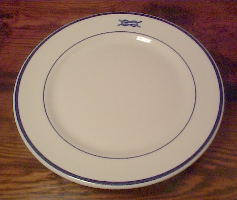 junior grade officer dinner plate
