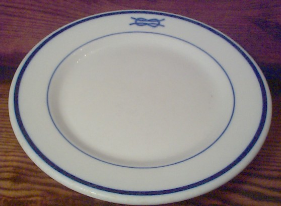 junior grade officer salad plate