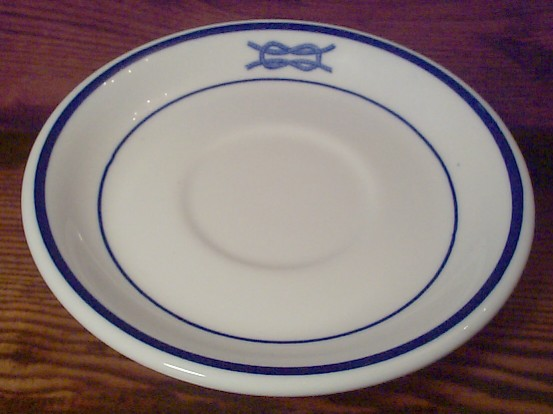 junior grade officer Demitasse Coffee Saucer