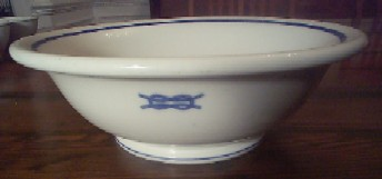 junior grade officer serving bowl