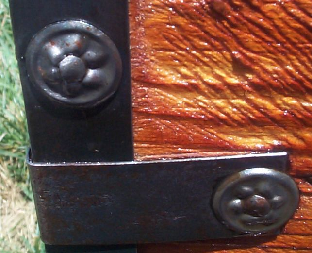 restored victorian all wood civil war trunk roll top top tunk for sale 693