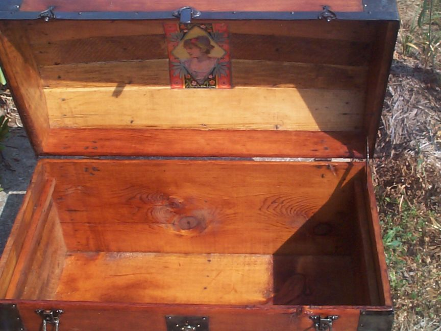 restored victorian all wood humpback or dometop for sale 702