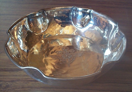 Post WWII Cold War Soviet Naval Air Candy Dish