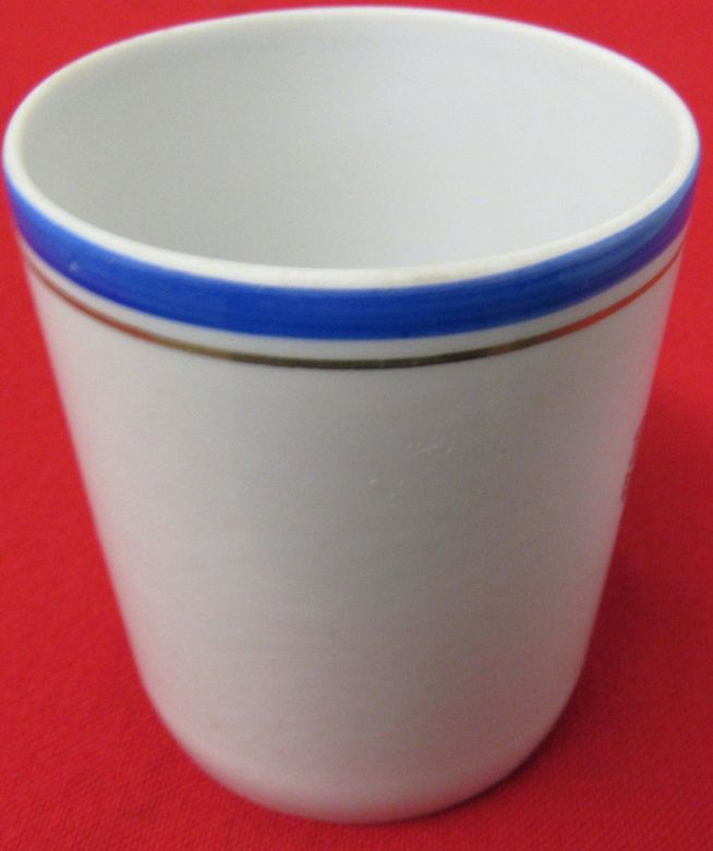 post WWII Cold War Soviet Navy or russian navy cup ca 1970