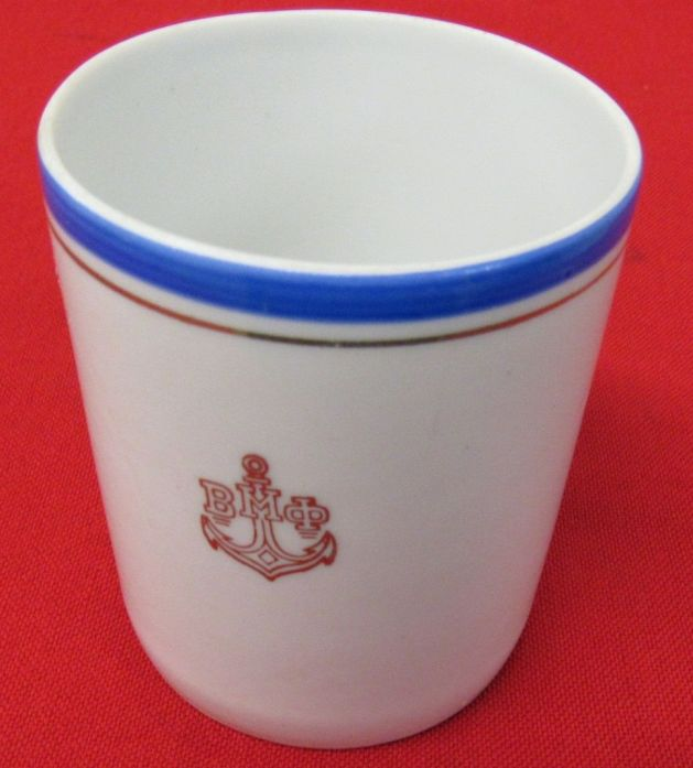 Post WWII Cold War Soviet Russian Red Navy Cup