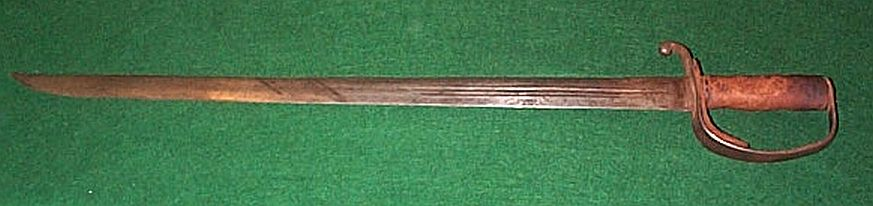 Antique Espada Ancha Spanish Broad Sword