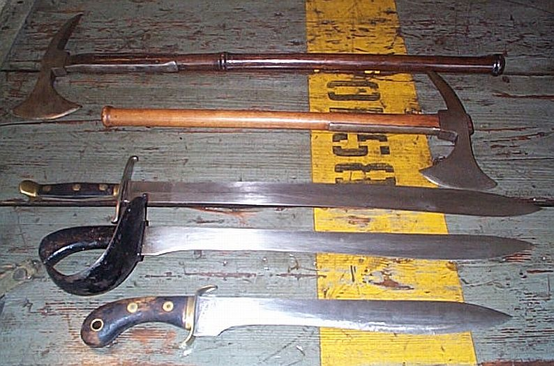 Swedish Naval edged weapons