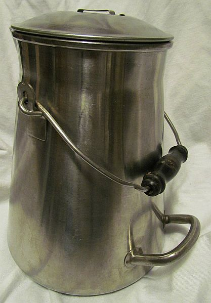 us navy enlisted mess hall galley stainless steel coffee pot