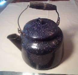Rare Large 1 Gallon Navy Enlisted Tea Kettle