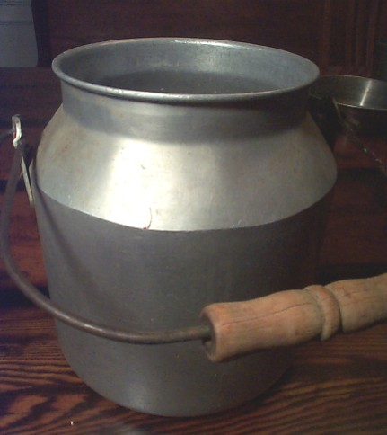 early 1900's to 1940's US Navy Large Milk Bucket or Milk Jug