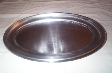us navy aluminum or stainless steel serving tray or serving platter