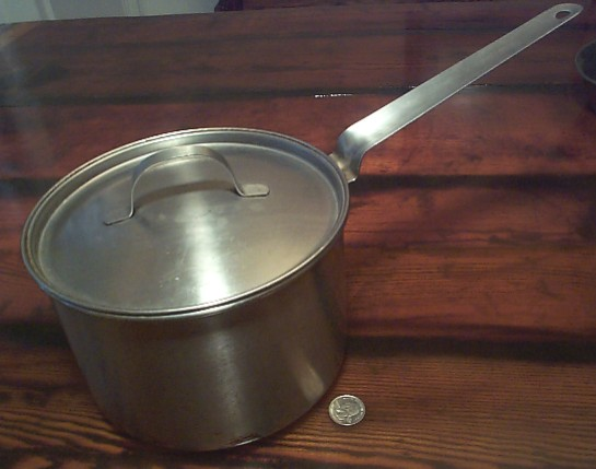 Medium Size US Navy Cooking Pot with Lid