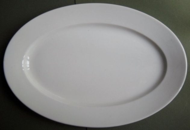 Navy Enlisted Mess Scammell China White Serving Platter