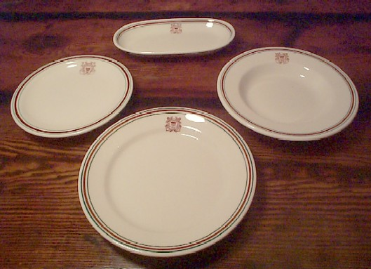 Antique China Plate. Guard China, dinner plate,