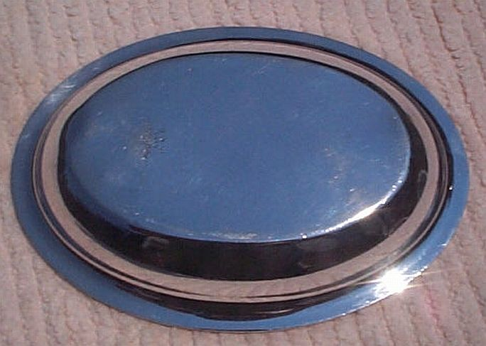 USCG issued Formal Coast Guard Silverplate Deep Dish with Insignia