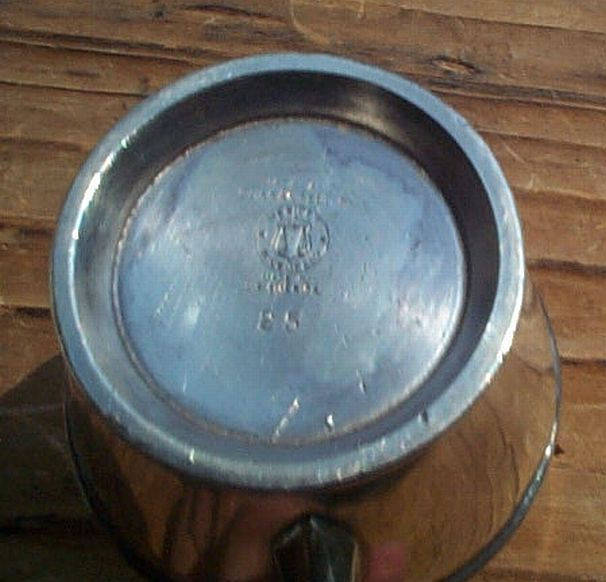 USCG issued Formal Coast Guard Silverplate Creamer with Insignia