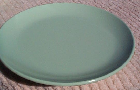 usmc marine corps green plastic enlisted mess 10 inch plate