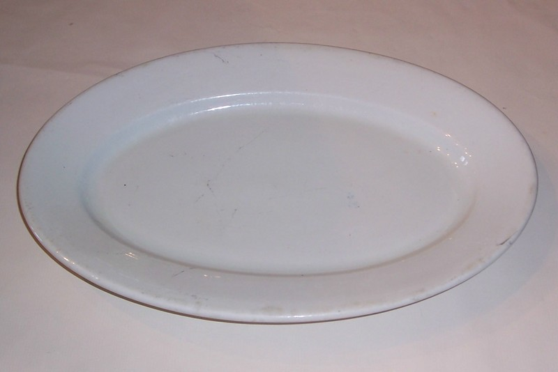 USMC Marine Corps Large Deep Antique Serving Bowl - 1909