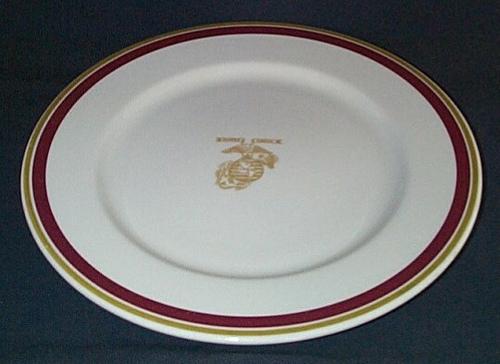 usmc marines wwii large starter plate