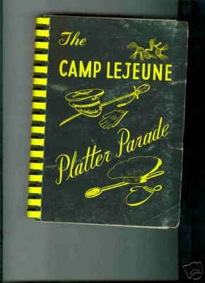 usmc marine corps camp lejeune cookbook 1958