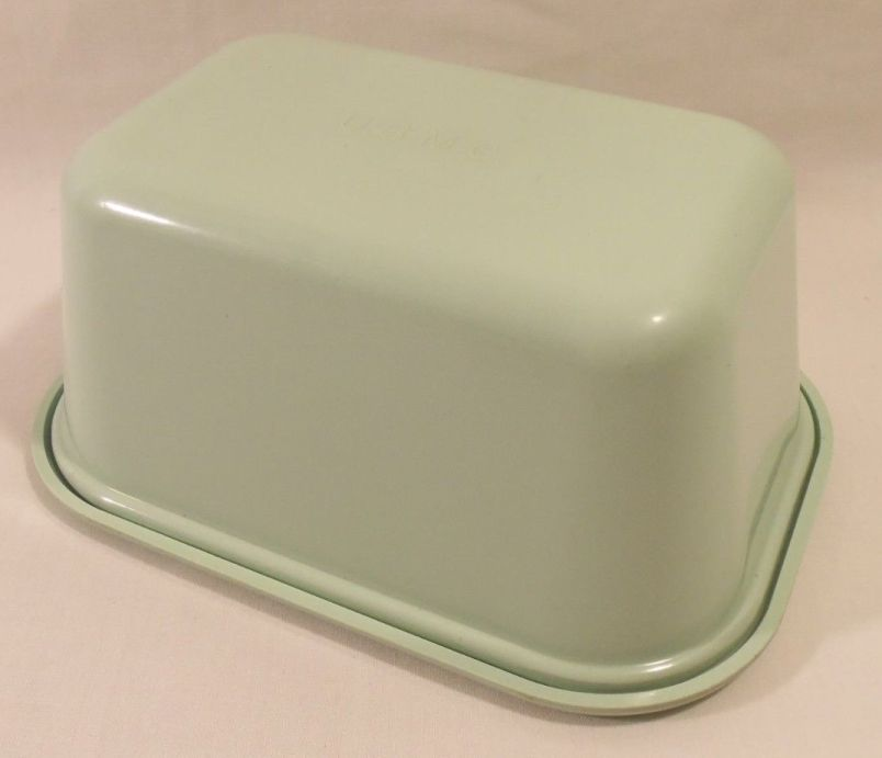 usmc marine corps master butter dish, covered
