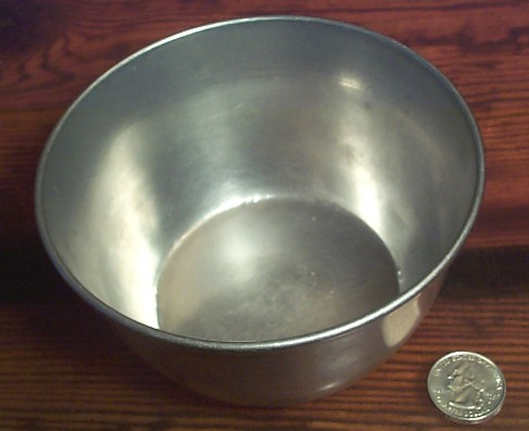 WW2 era, marked USMC, Aluminum deep Soup Bowl