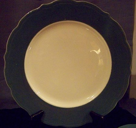 usmc marine corp salad plate