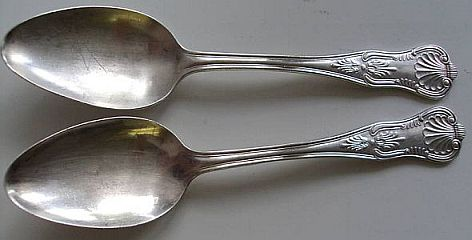 Marine Corps Silverware Serving Spoon