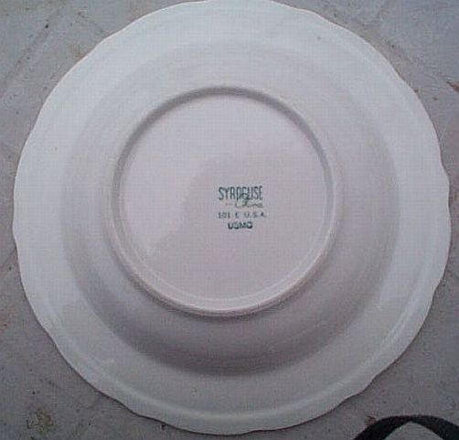 USMC Marine Corps Lunch Plate, ca 1960s-1970s