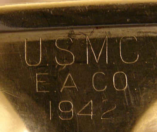 USMC WWII Korea Vietnam era Mess Tray