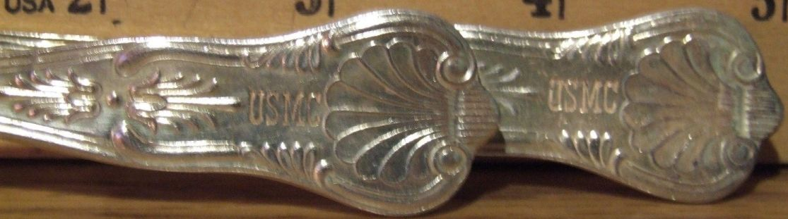 Marine Corps Silverware teapoon