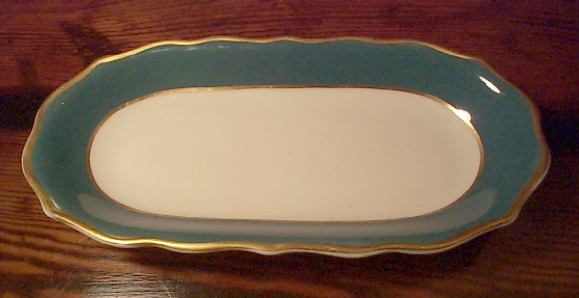 USMC Marine Corps Large Serving or Relish Dish, ca 1968 - 1973