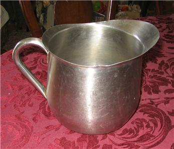 usmc marine corps stainless steel water pitcher
