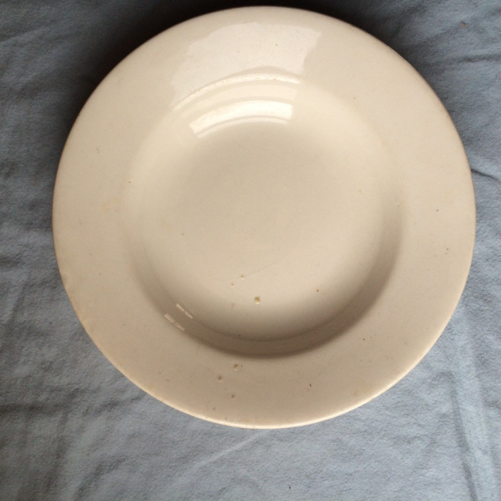 usmc marines 1921 white dinner soup bowl