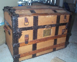 How to Restore Antique Trunks and Trunk Restoration, Refurbished