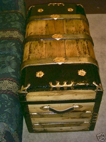 Nautical Theme Trunk Coffee Table