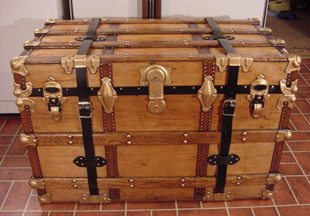 pirate chest hardware