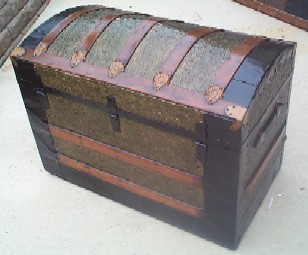 Pirate Chest #96 back view