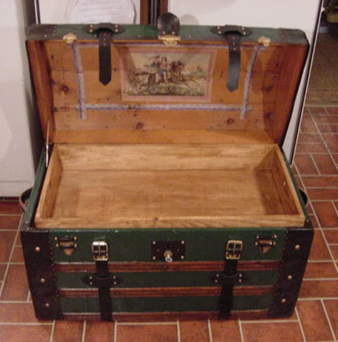 Pirate Treasures Chests Dome Top Chest #9 open with insert