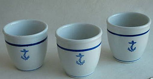 us navy watch standing mug custard mug, anchor
