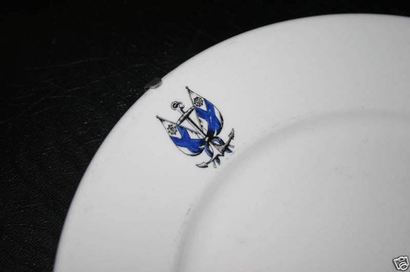 ... finnish navy dinner plate marinem or merivoimat topmark & Finnish Navy Dinnerware and Tableware or Merivoimat or Marinem in ...