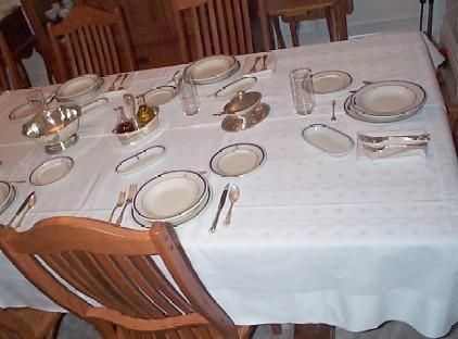 Nautical Banquet Size U S Navy Tablecloth